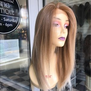 Alopecia Hairloss Wig Swisslace Blonde Mix 27/613